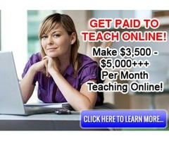 Teaching Jobs Online | Get Paid To Teach Online