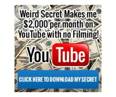 ENJOY MONTHLY PAYMENTS FROM YOUTUBE! 2017