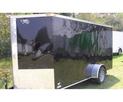 "NEW 6 ftx14 Enclosed Cargo - Additional 3 "" Height , Vnose"