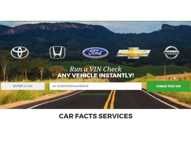Run a VIN Check Any Vehicle Instantly! - Auto Parts