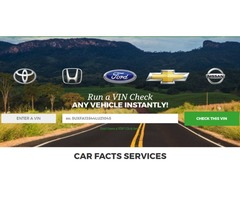 Run a VIN Check Any Vehicle Instantly!