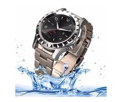 Silver NO.1 SUN S2 1.22 inch IPS Display Screen Bluetooth 3.0 Smart Watch