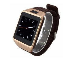 Brown Atongm W007 Multifunctional Bluetooth MTK 6260A Smart Watch