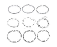 Shop best jewelry collection of sterling silver bracelets wholesale
