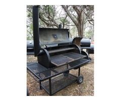 BBQ Pit Jumbo Quarter Inch with firebox