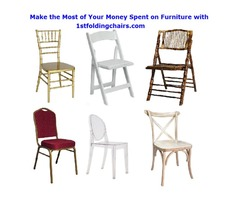 Make the Most of Your Money Spent on Furniture with 1stfoldingchairs.com