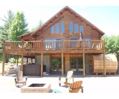Lake Placid Whiteface Amazing Log Home with Views
