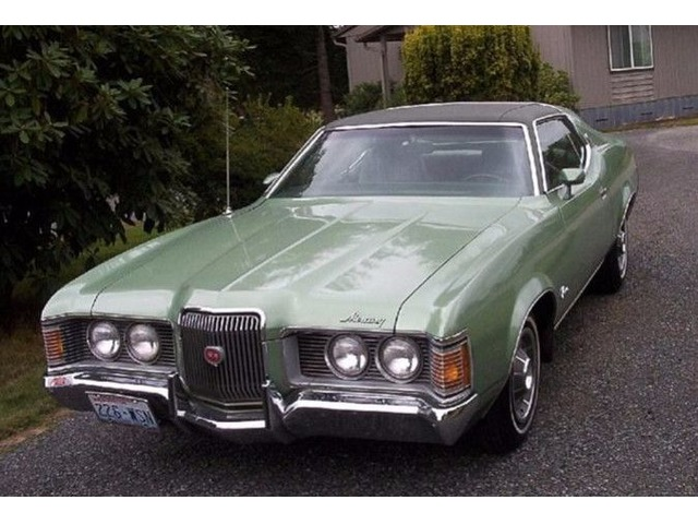 1971 Mercury Cougar XR7 For Sale