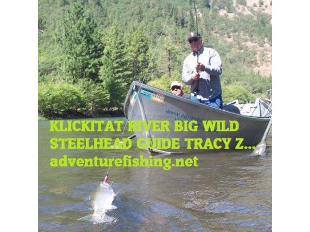 Salmon Steelhead Fish Lodging trips Klickitat River Resort