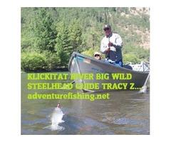 Salmon Steelhead Fish Lodging trips Klickitat River Resort