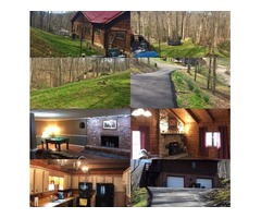 Beautiful Log Home on over one acre wooded lot