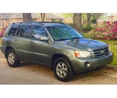 2005 Toyota Highlander V6, Exc Condition