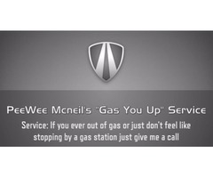 Peewee Mcneil gas you up service