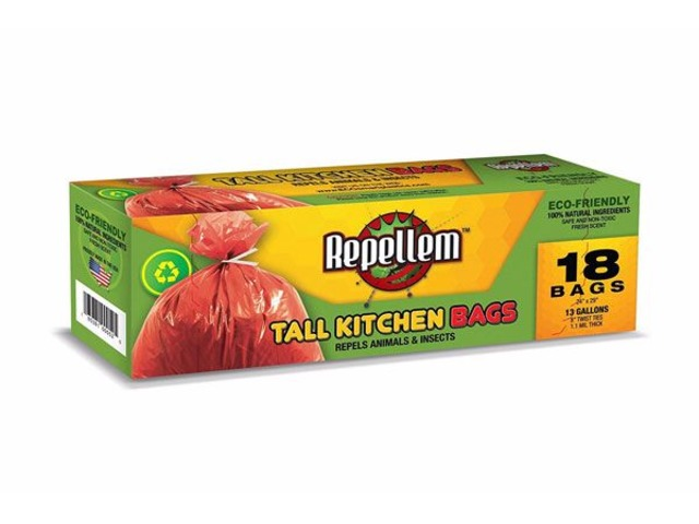 REPELLEM Tall Kitchen 13 Gallon Trash Bags 6-pack! | free-classifieds-usa.com