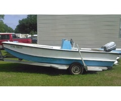 15 ft boat motor and trailor