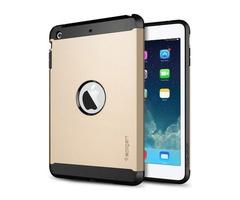 For iPad Mini 1/2/3 Golden Tough Armor Plastic TPU Combination Case