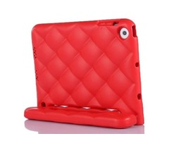 For iPad Mini 1/2/3 Red EVA Net Style Bumper Protective Case with Handle