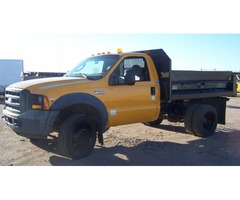 2006 FORD F450 DUMP TRUCK FOR SALE