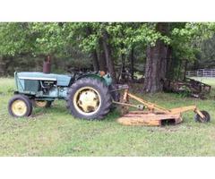 John Deere 1020 Tractor with 5' Shredder