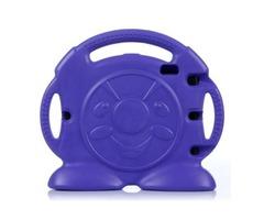 For iPad Mini 1/2/3 Purple Anpanman Pattern EVA Bumper Portable Protective Case