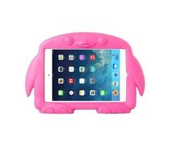 For iPad Mini 1/2/3 Magenta Penguin EVA Protective Case