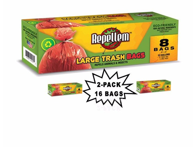 Repellem Large Kitchen Trash Bags -2PK | free-classifieds-usa.com