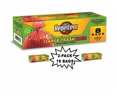 Repellem Large Kitchen Trash Bags -2PK