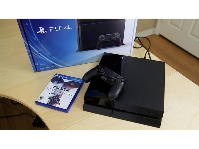 brand new ps 4 500 GB black colour for sale
