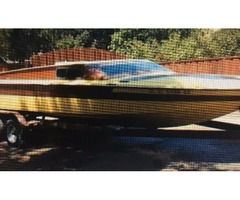 Day Cruiser boat and trailer
