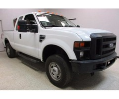 2010 Ford F250 Extended Cab 4x4 Short Bed V8 Automatic