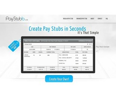 www.paystubb.com your paystub for $ 9 Only