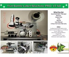 Flat Bottle Machine PRO-LT-60/ Generic Brand