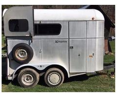 Kingston 2 Horse Trailer