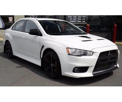 012 Mitsubishi Lancer Evolution AWD MR 4dr Sedan