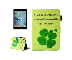 For iPad Mini 4/3/2/1 Clove Smart Cover Leather Case with Holder