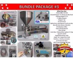 Piston Filler Single Head JET-100 Bundle