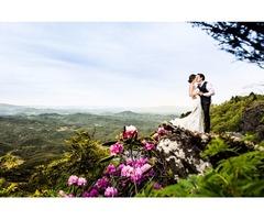 Wedding Reception mountains nc