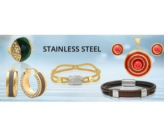 Buy Stainless  Steel Jewelry Wholesale at P&K Jewelry