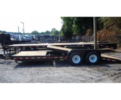 2017 Big Tex Tilt Bed Equipment Trailer 7'x22'