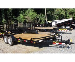 2017 Big Tex Tandem Axle Equipment Trailer W/Mega Ramps 7'x18'