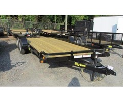 2016 Big Tex Tandem Axle Open Car Hauler 7'x18'
