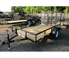 2017 Big Tex Single Axle Utility Trailer 6'6x10'