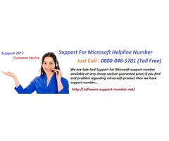 Software Support, Windows Support