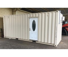 NEW 20' Office Container with Air Conditioner