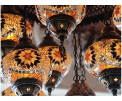 DESIGN WAREHOUSE / TURKISH MOSAIC LIGHTING