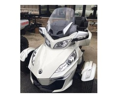 New 2017 Can-Am Spyder RT-S Motorcycle