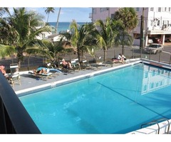 The apartment is located at a quite beach resort