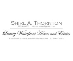 Horseshoe Bay TX Real Estate & Land for Sale - Shirl Thornton