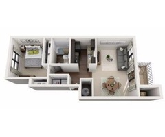 Beautifully Remodeled 1 & 2 Bedroom Apartments