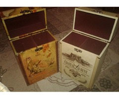 Handsome set of Wine Cases